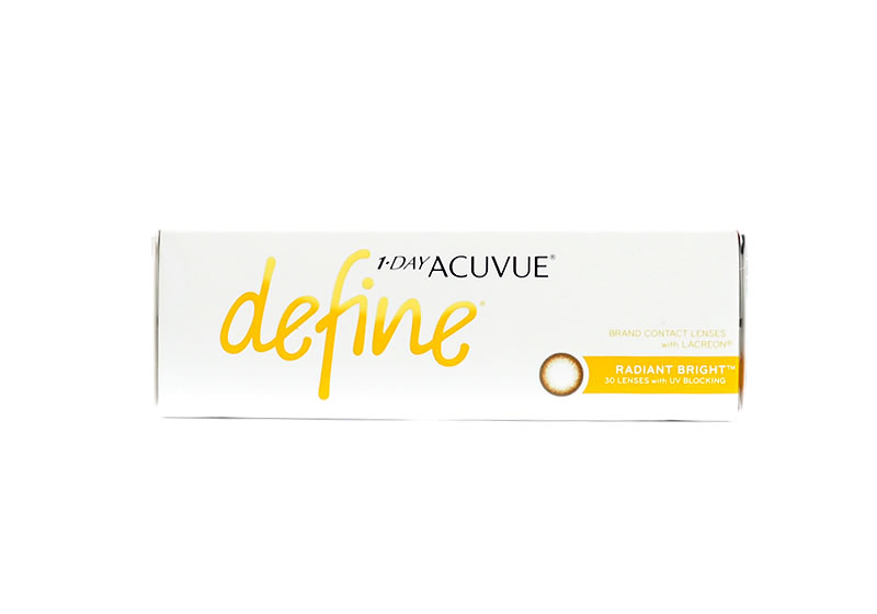 1-Day Acuvue Define Radiant Bright Contact Lenses